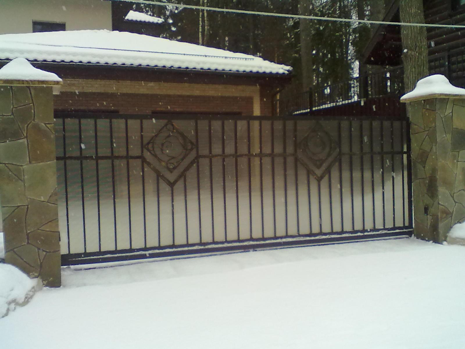 щелковский район откатные ворота