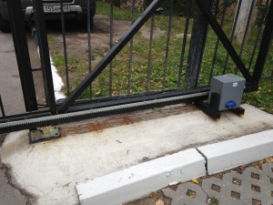 ремонт ворот откатных