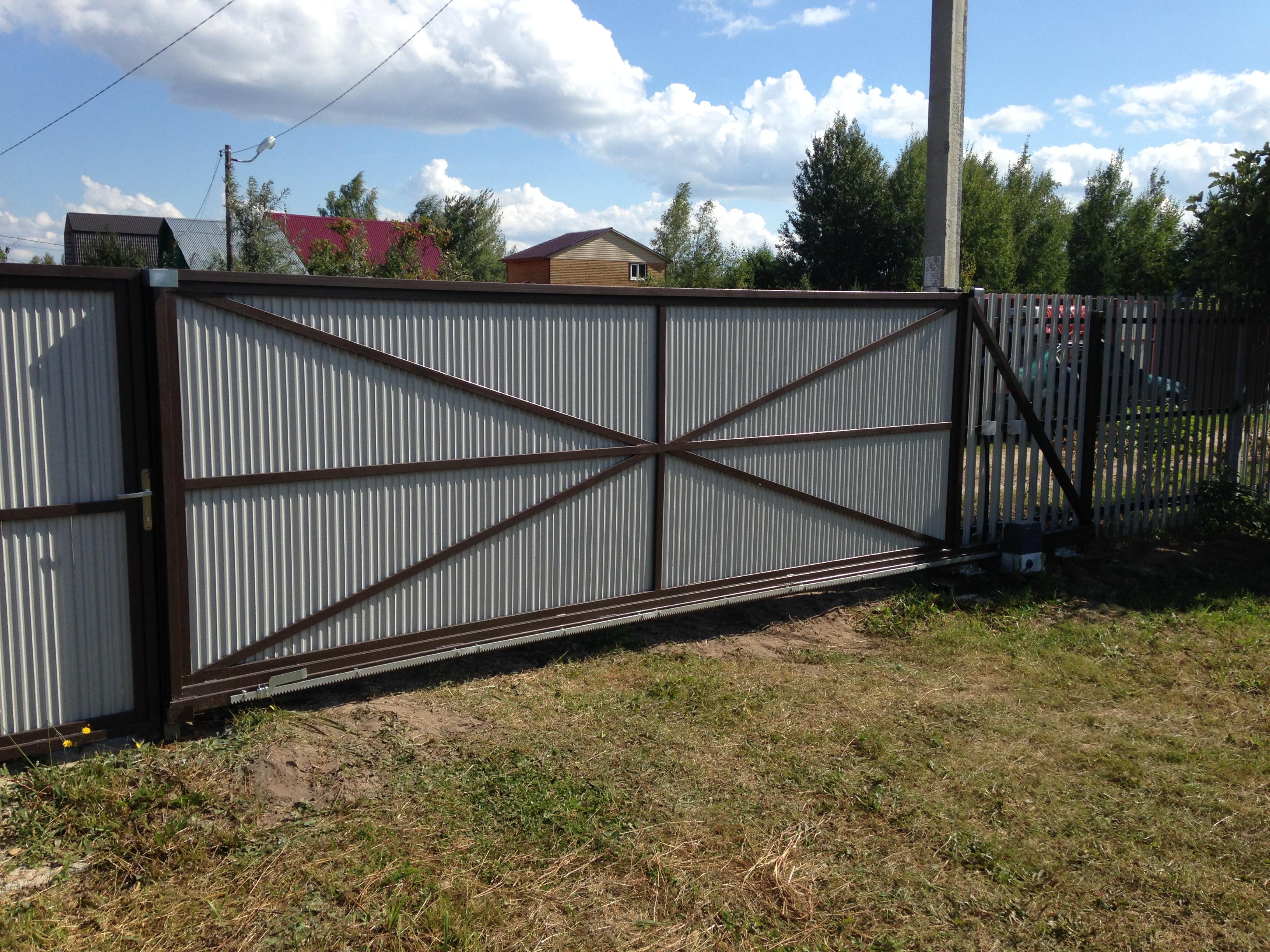 купить гаражные ворота в гатчине